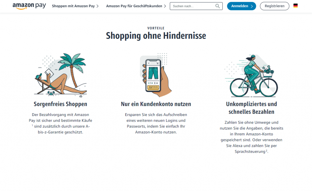 Amazon Pay - wie funktioniert das Bezahlen über das Amazon Konto