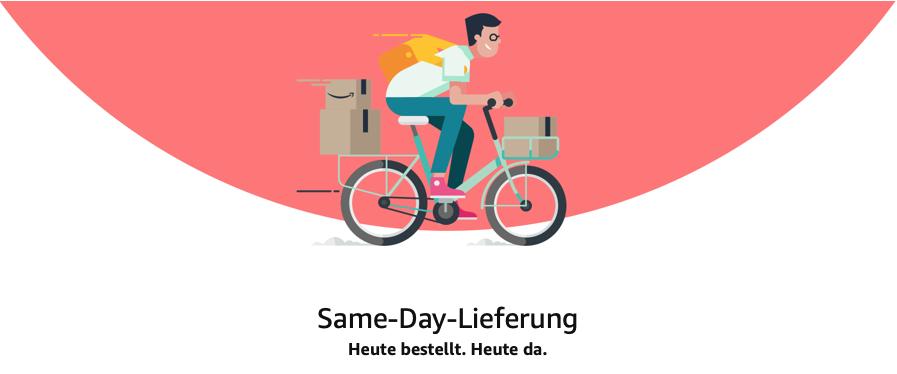 Amazon Same Day Lieferungen - Wie funktioniert es?