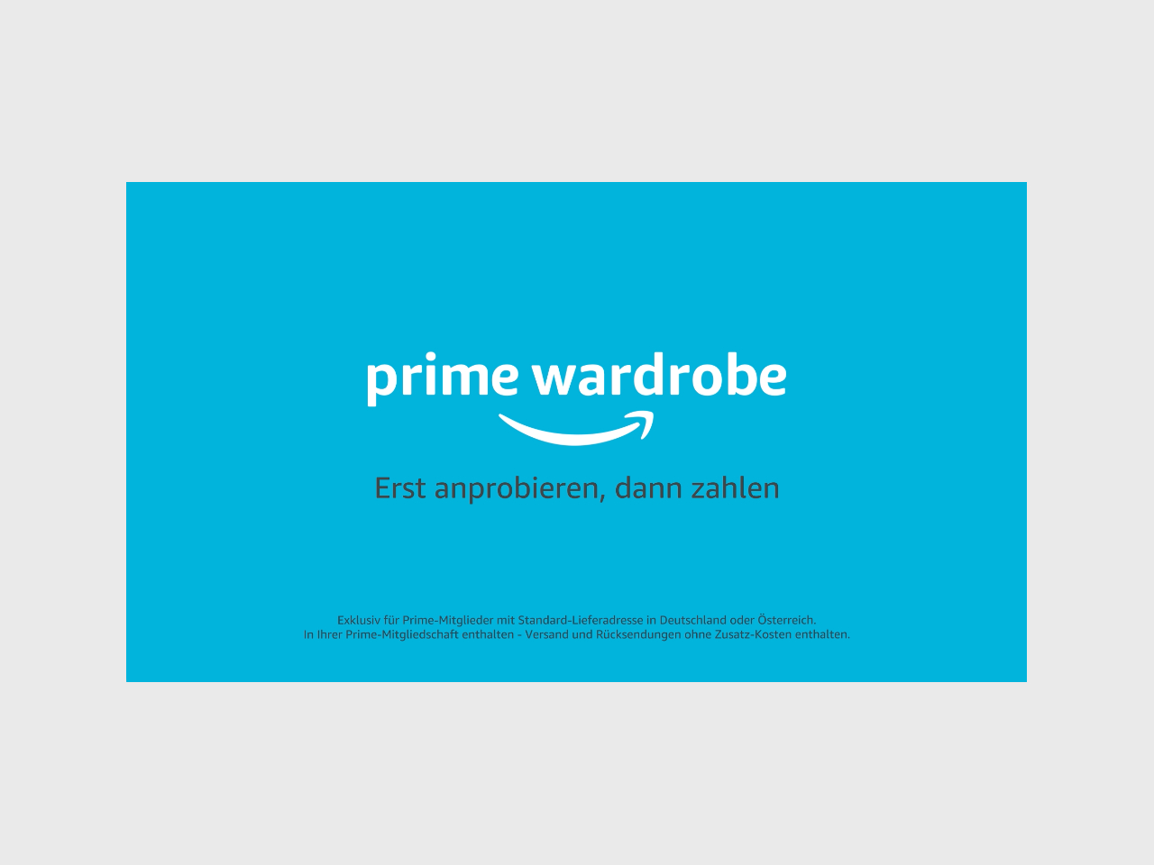 Wie funktioniert Amazon Prime Wardrobe?
