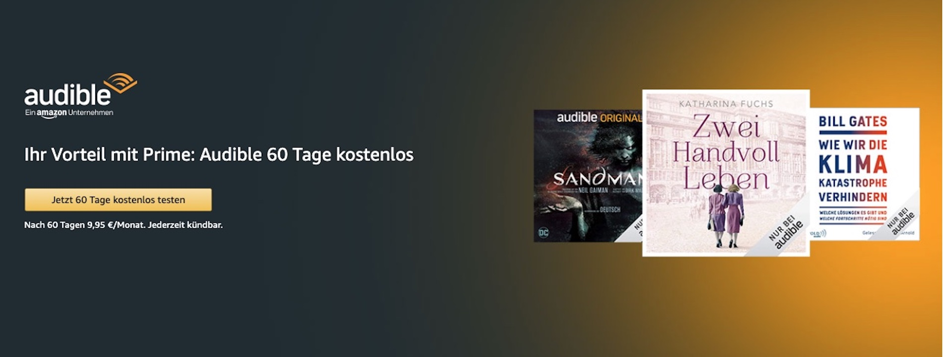 Ist Audible bei Amazon Prime enthalten?