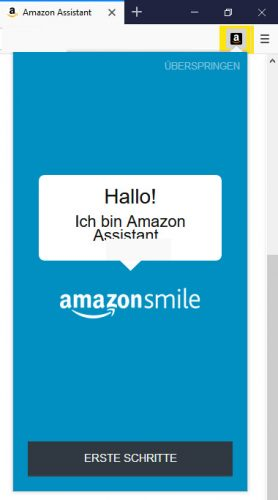 Amazon Asisstent Button