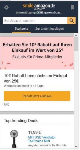 Amazon Assitent Gutschein einlösen